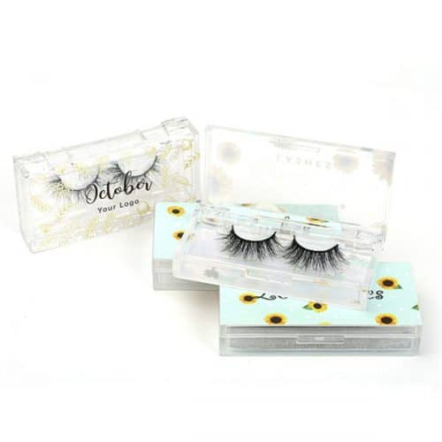 PRIVATE LABEL EYELASH BOX