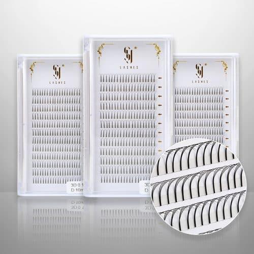 Eyelash extension supplies wholesale 3D-0.1-D-10MM